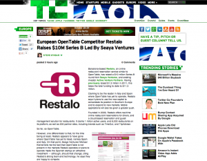 European OpenTable Competitor Restalo Raises $10M Series B Led By Seaya Ventures