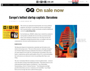 Europe's hottest startup capitals: Barcelona